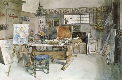 Carl Larsson studio