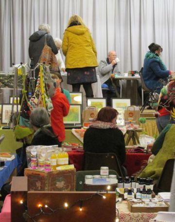 craft fair busy